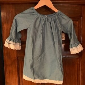 Other - Toddler Chambray Dress NWT